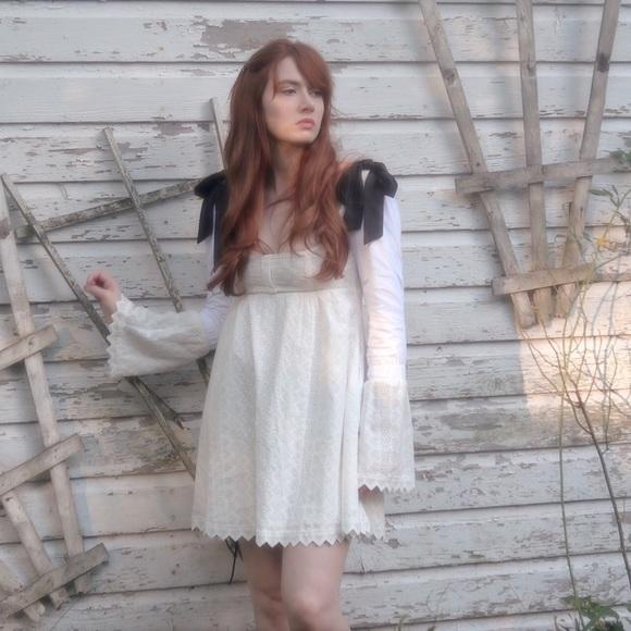 dd9fa5d1bad For Love And Lemons Dresses   Skirts - Charlotte Eyelet Babydoll Dress